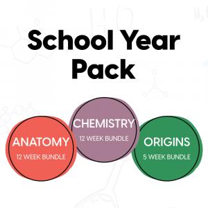 Anatomy, Chemistry and Origins School Year Pack